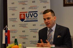 Miroslav Hlivák, riaditeľ Úradu pre verejné obstarávanie.