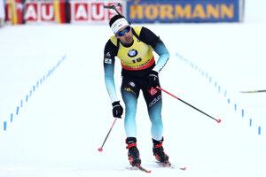 Martin Fourcade vyhral šprint v Ruhpoldingu 2020.