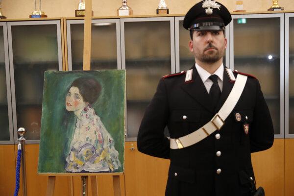 Odborníci na umenie sa zhodli, že autorom obrazu je Gustav Klimt.