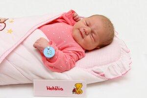 Natália Drozdová zo Žiliny sa narodila 12.1. v Bojniciach