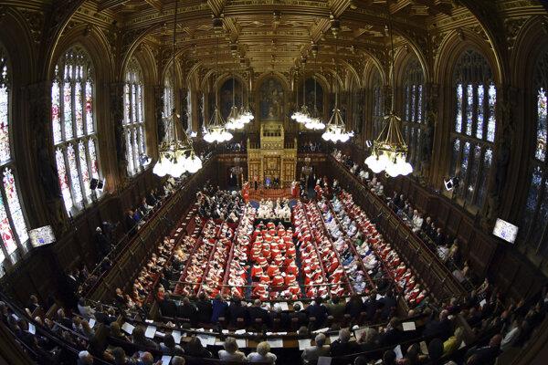 Snemovňa lordov.