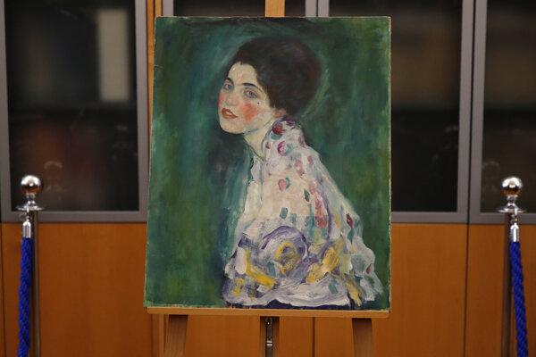 Obraz nazvaný Portrét dámy.