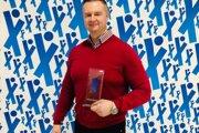 Peter Papík s ocenením Tréner roka.