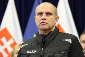 Prezident polície SR Milan Lučanský.