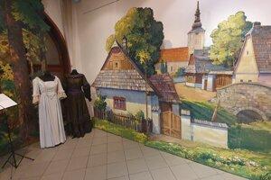 Otvorenie výstavy na počesť slovenského divadelníctva v MJK v Liptovskom Mikuláši