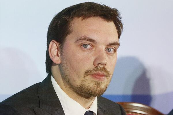 Ukrajinský premiér Hončaruk.