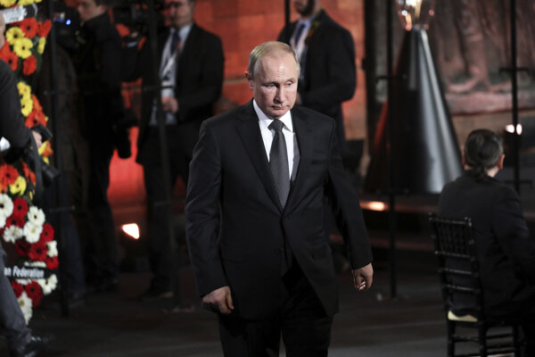 Putin a Netanjahu odhalili pamätník Leningradskej blokády