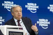 Generálny tajomník Organizácie Spojených národov António Guterres.