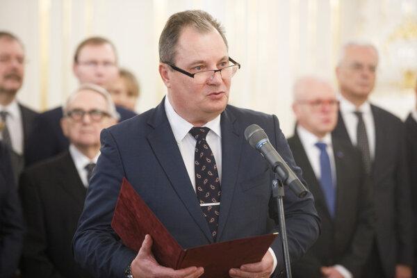 Prezident Slovenskej rektorskej komory Rudolf Kropil.