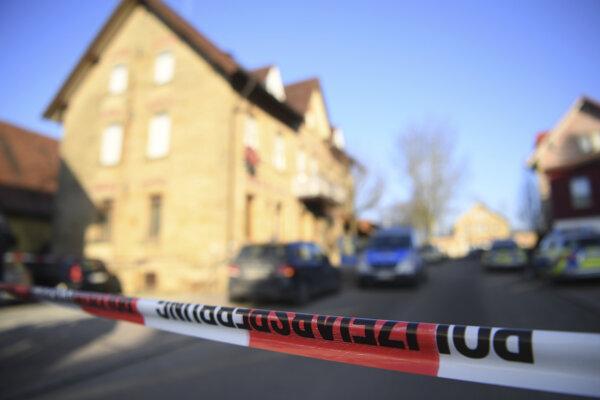 Polícia na mieste tragédie.