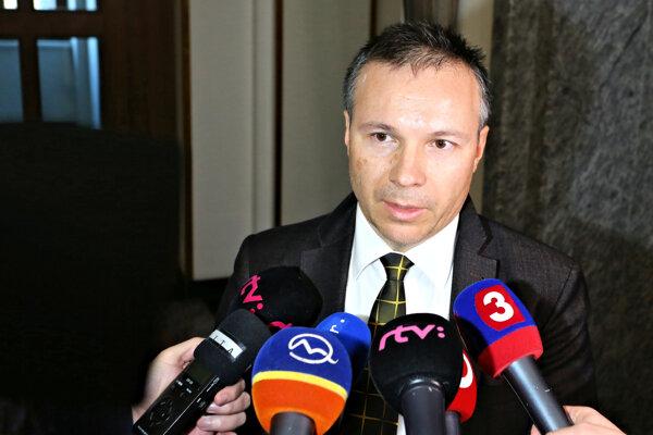 Predseda predstavenstva SAD Zvolen Adrián Polóny.