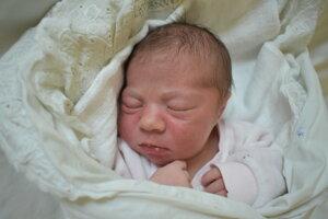 Katarína Hrabovská (3600 g, 50 cm) sa narodila 21. januára Márii a Jozefovi zo Svinnej.