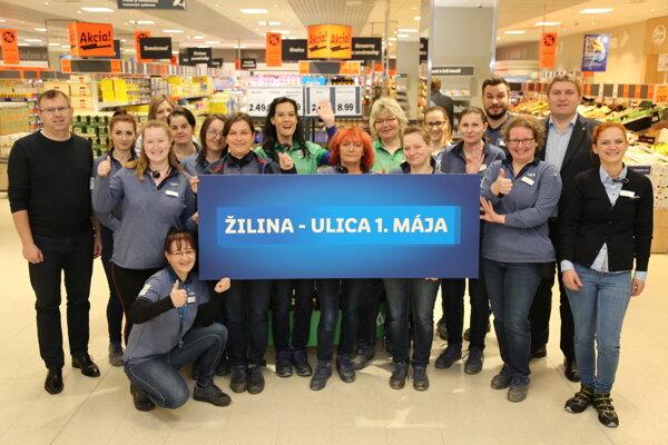 Nová predajňa Lidl v Žiline