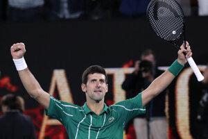 Novak Djokovič vyhral svoj sedemnásty grandslamový titul.