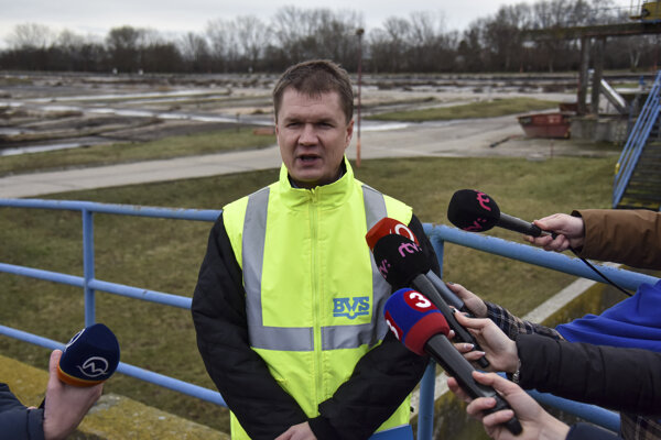 Generálny riaditeľ Bratislavskej vodárenskej spoločnosti (BVS) Peter Olajoš.