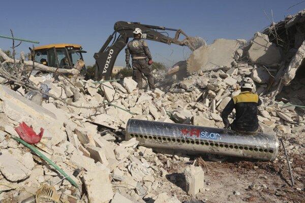 Občianska vojna v Sýrii si doteraz vyžiadala viac ako 380-tisíc ľudských životov.