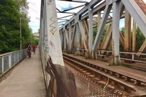 Starý železničný most.