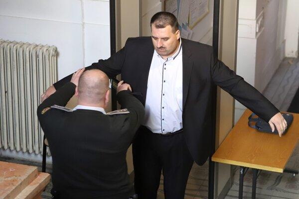 Branislav Paška na súde.