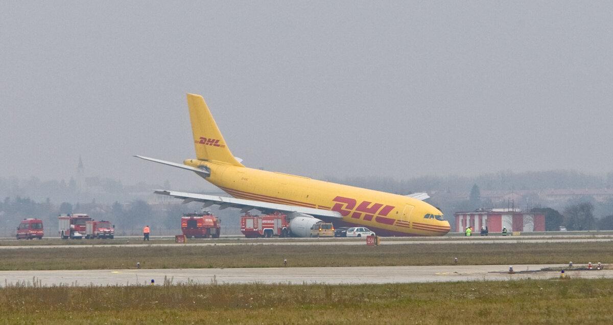 havarované lietadlo