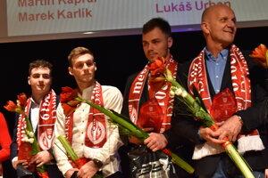 Karlik, Kapraľ, Falat, Drotár.