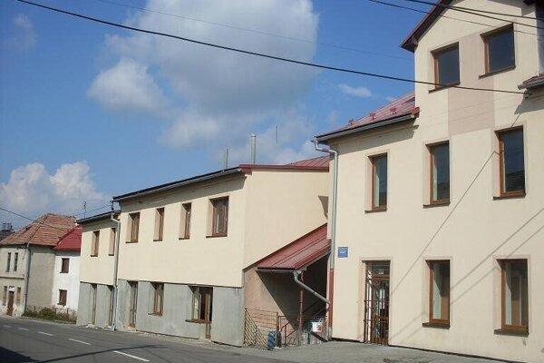 Budova v Hornej Štubni po rekonštrukcii.