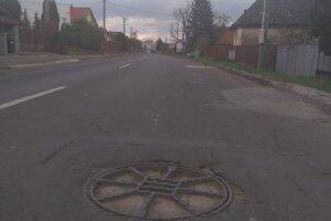 Poklop na Mlynskej vo Vranove.