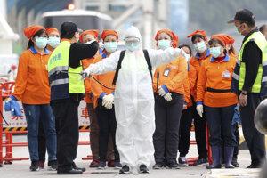 Opatrenia proti koronavírusu na Taiwane.
