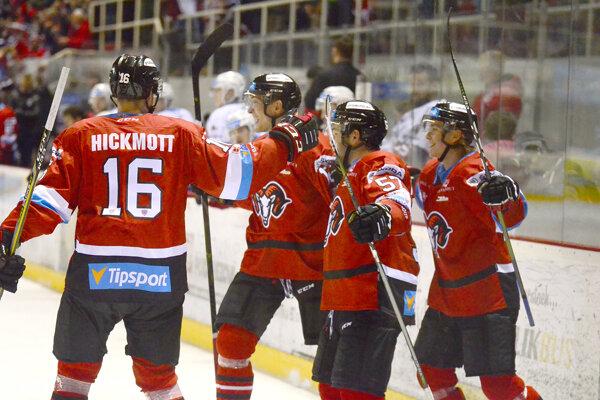 Radosť hokejistov Banskej Bystrice