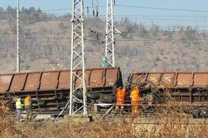K vykoľajeniu vlaku v Krompachoch došlo 16. februára 2019.