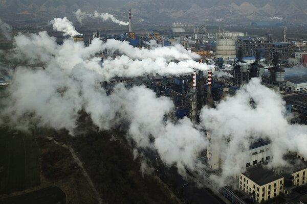Vlani Čína vypustila za sledované obdobie dvoch týždňov približne 400 ton CO2.