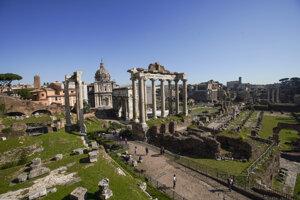 Forum Romanum bolo v antickom Ríme centrom verejného života.