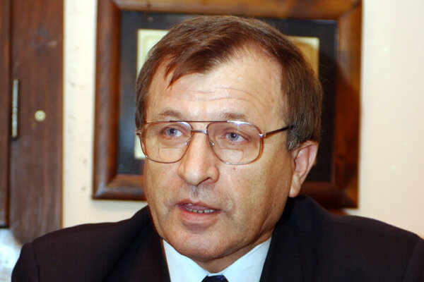 Bývalý riaditeľ umeleckého súboru Lúčnica Pavol Čorej.