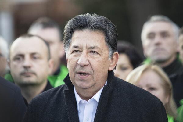 Budúci minister životného prostredia Ján Budaj.
