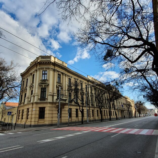Karáčoniho (Karátsonyiho) palác.