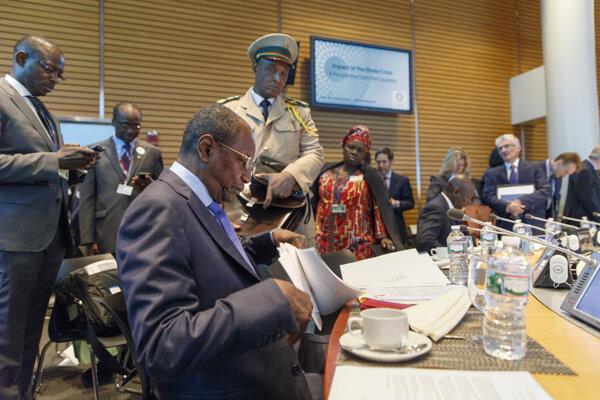 Guinejský prezident Alpha Condé.