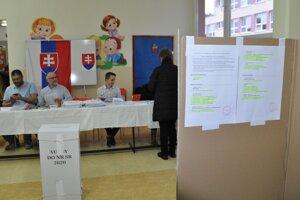 Voľby do NR SR v Nižnej.