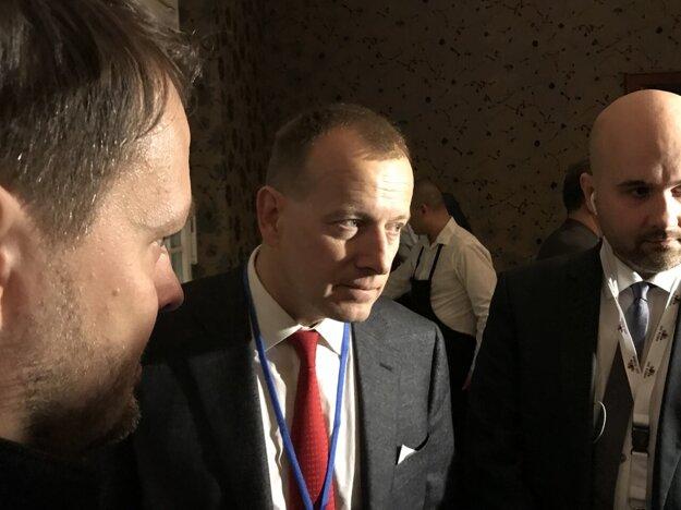 Voľby 2020: Boris Kollár prišiel medzi novinárov.