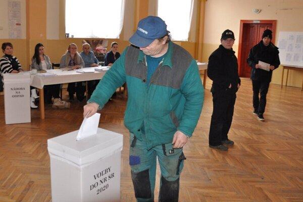 Voľby v Liptovskej Teplej.
