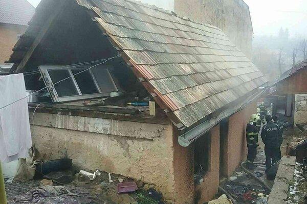 Požiar v Dobšinej si vyžiadal životy detí.