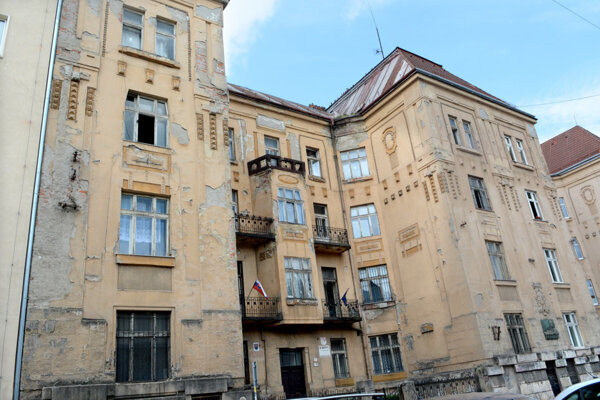 Divadlo Romathan sídli v starej budove.