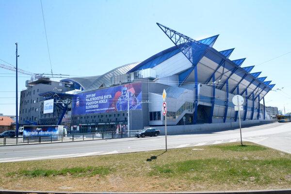 Slovenskí hokejisti napokon v tejto aréne o olympiádu v Pekingu nezabojujú.