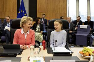 Ursula von der Leyenová pozvala Gretu Thunbergovú na zasadnutie Európskej komisie.
