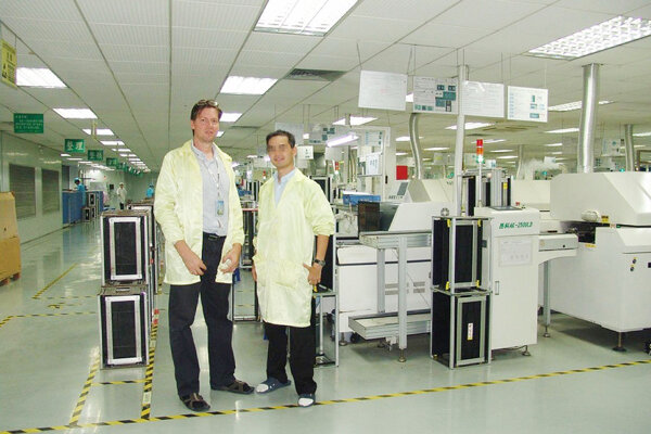 Igor Kolla v Číne.