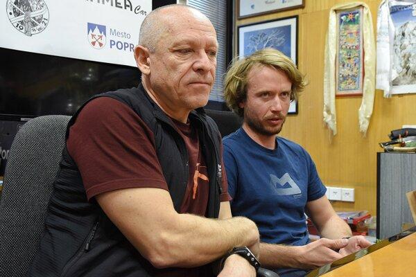 Peter Hámor a Michal Sabovčík (vpravo).