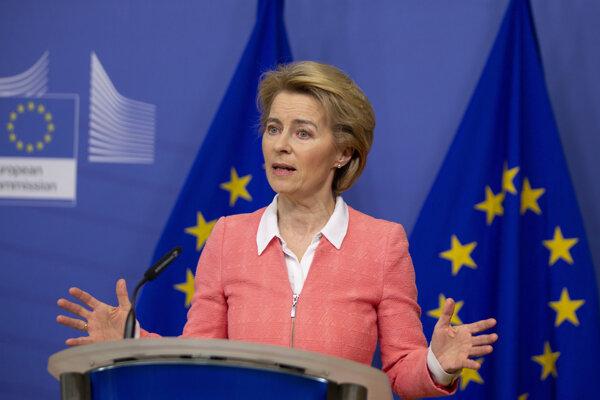 Ursula von der Leyenová, predsedníčka Európskej komisie.