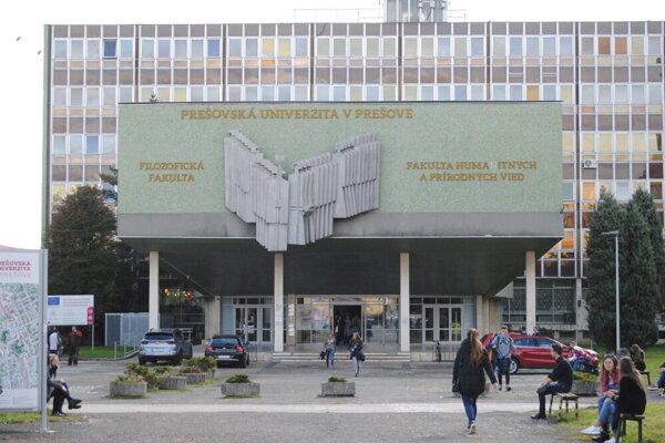 Prešovská univerzita.