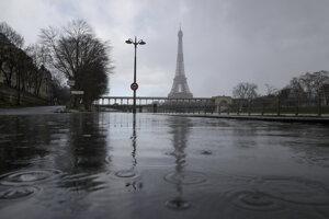 Seina ohrozuje Paríž.