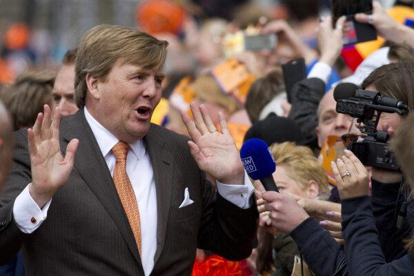 Holandský kráľ Willem-Alexander.