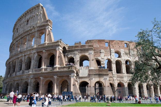 Koloseum pred koronavírusom.