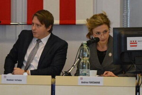 Vladimír Feľbaba a Andrea Turčanová.